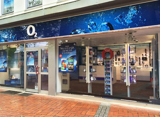 o2 Shop Peine
