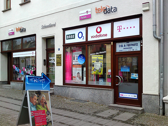 Filiale Sangerhausen freier Shop